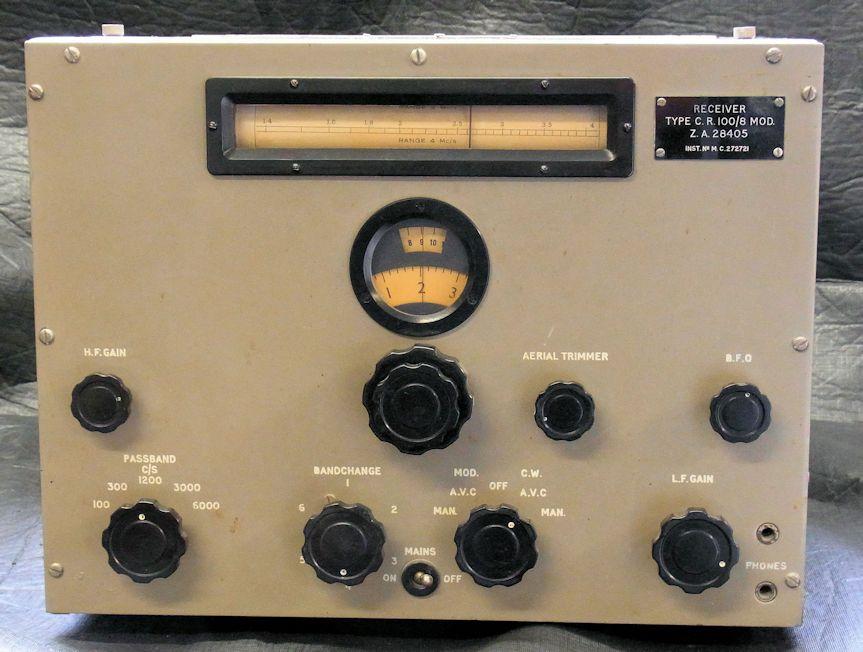16  Marconi Communication Receiver 100/8 – Heinemo Radio