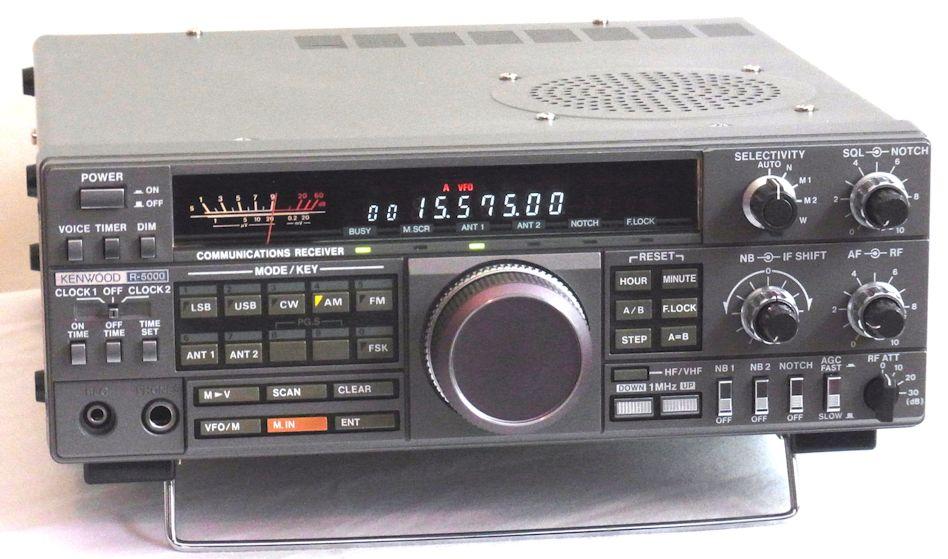 15  The astonishing Kenwood R-5000!! – Heinemo Radio