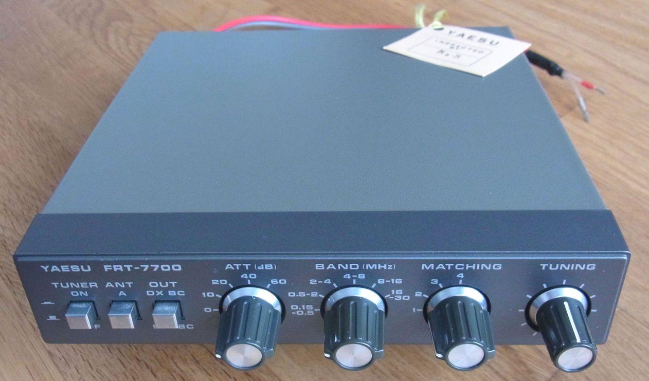 22. Yaesu FRT-7700 antenna tuner – Heinemo Radio